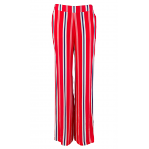 STRIPE WIDE LEG VAR V1 RED BLUE