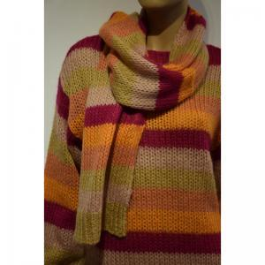 WOOL KID MOHAIR 35  FUCHSIA