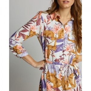 FLOWERPRINT  FLOWER LILA