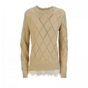 TRICOT-KANT BEIGE